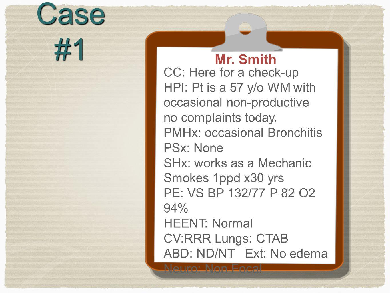 Case #1 Mr.