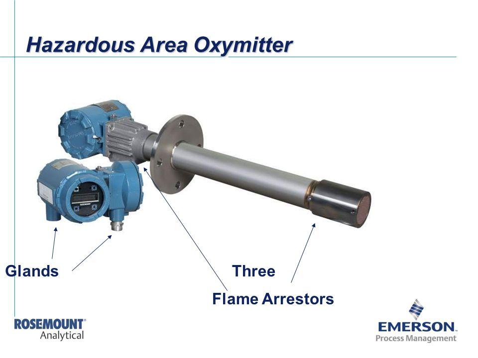 Hazardous Area Oxymitter Flame Arrestors ThreeGlands