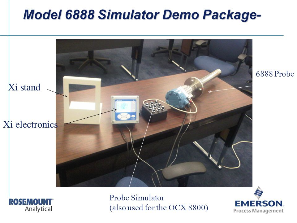 Model 6888 Simulator Demo Package- Xi stand Xi electronics 6888 Probe Probe Simulator (also used for the OCX 8800)