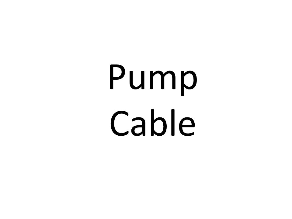 Pump Cable