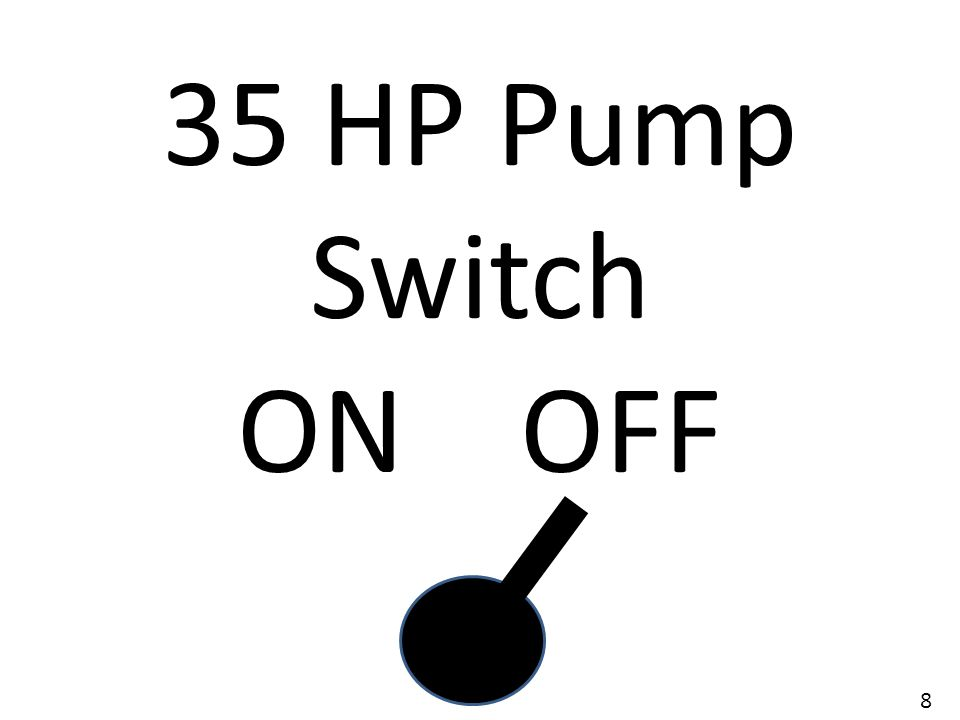 35 HP Pump Switch ON OFF 8