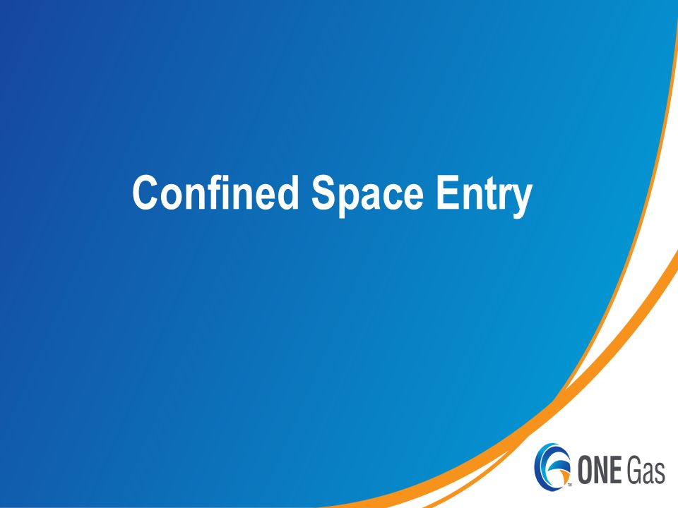 Page | 1 Confined Space Entry
