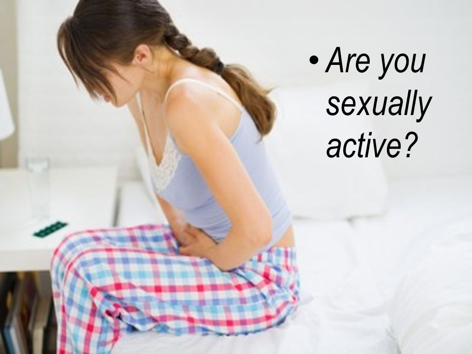 Are you sexually active