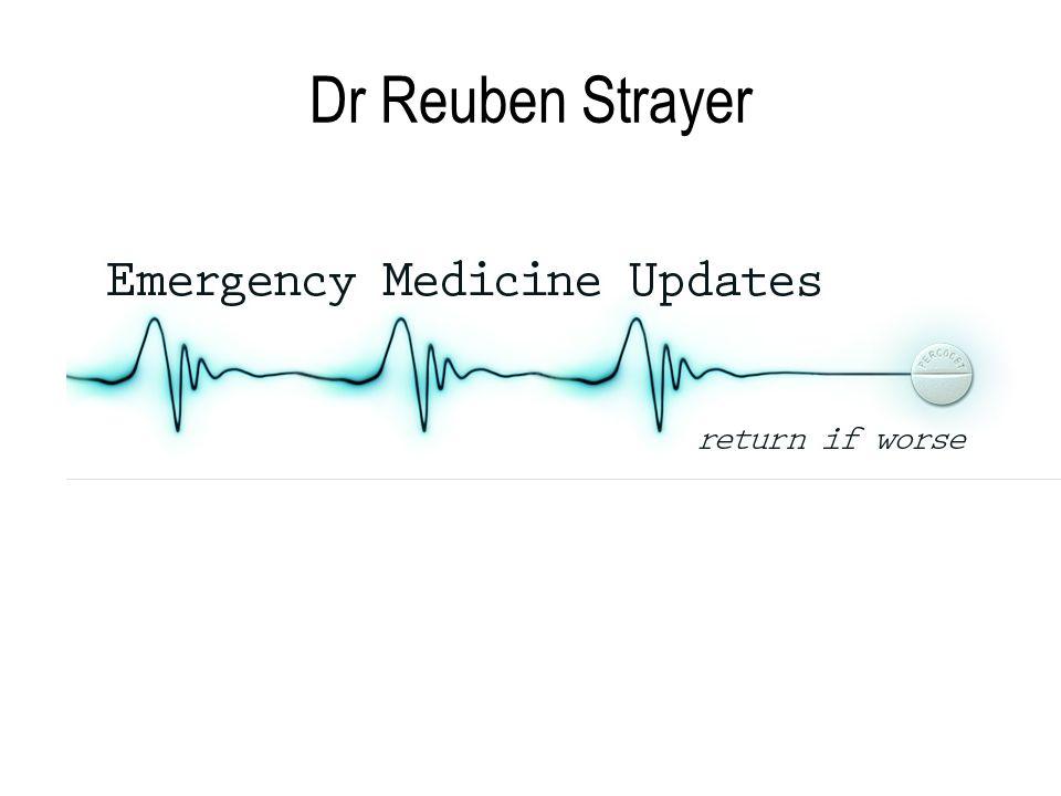 Dr Reuben Strayer
