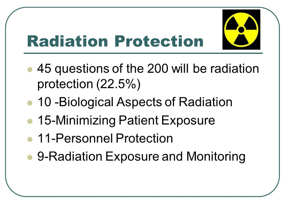 Biological Aspects of Radiation 10 Questions