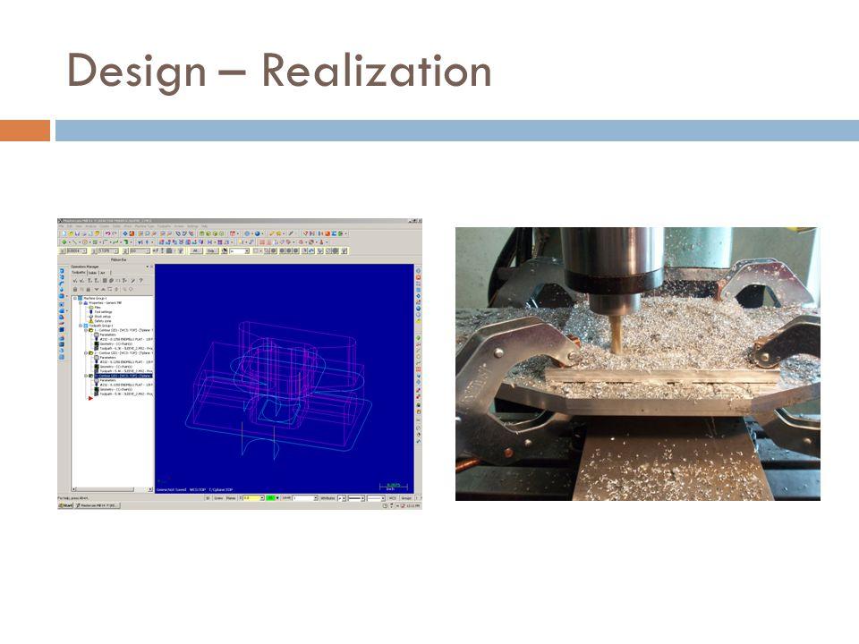 Design – Realization