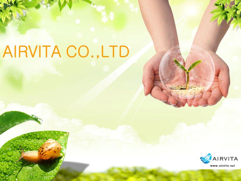 AIRVITA CO.,LTD www.airvita.net