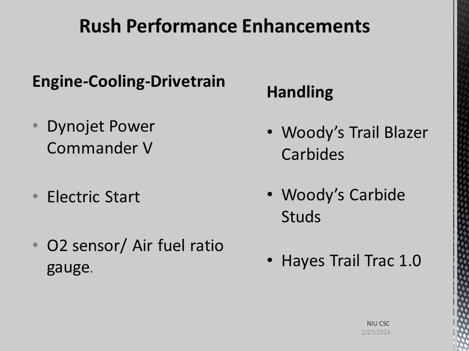 Engine-Cooling-Drivetrain Dynojet Power Commander V Electric Start O2 sensor/ Air fuel ratio gauge. Handling Woody's Trail Blazer Carbides Woody's Car