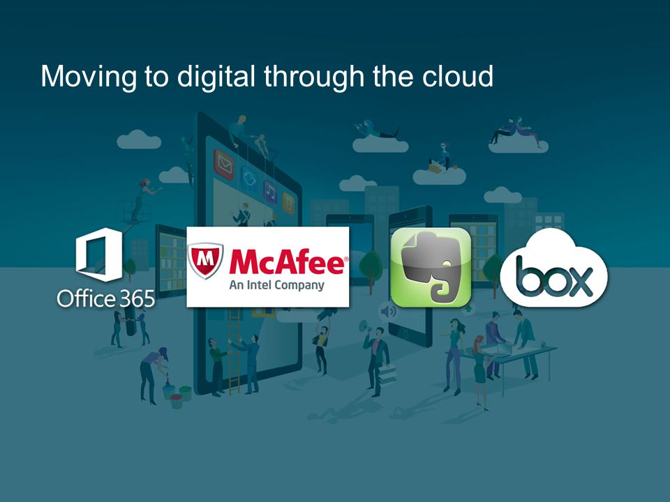 Moving to digital through the cloud