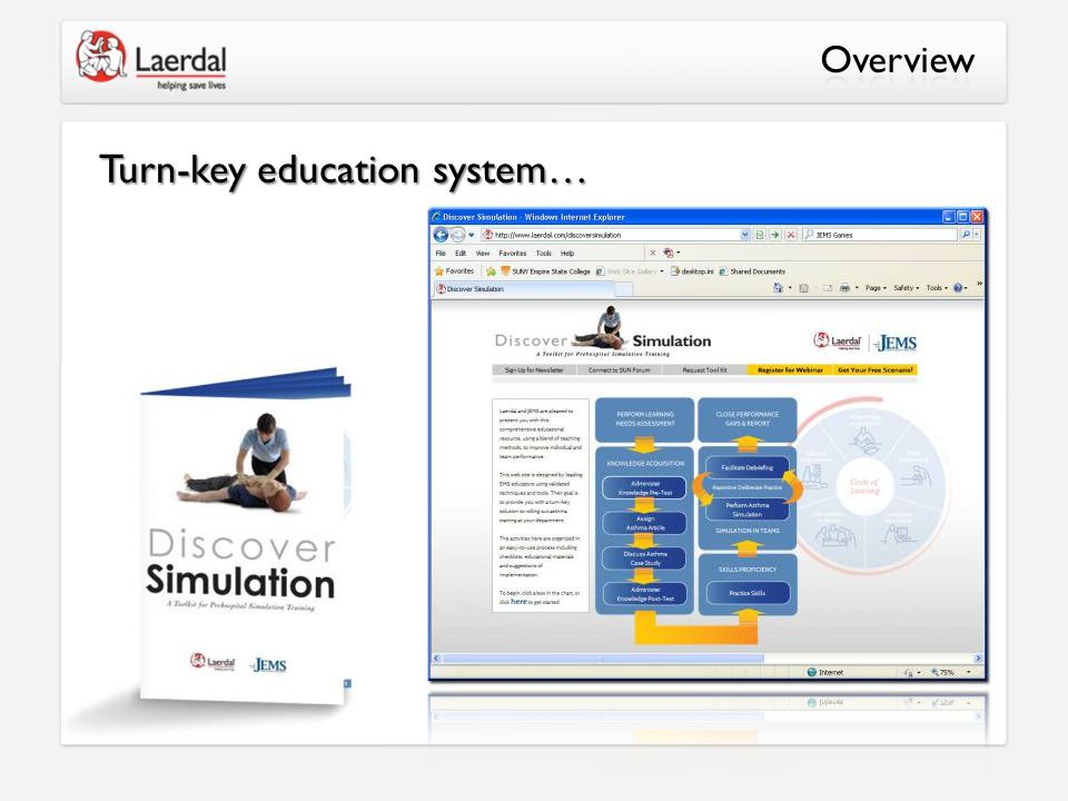 Turn-key education system…