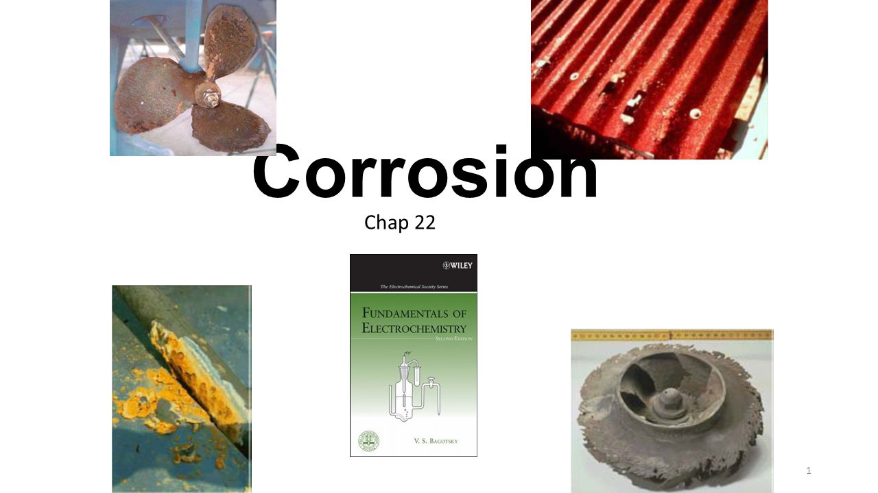 Electrochemical methods of protection (1) electroplating- of the corroding metal with a thin protective layer of a more corrosion-resistant metal, (2) electrochemical oxidation of the surface or application of other types of surface layer, (3) control of polarization characteristics of the corroding metal (the position and shape of its polarization curves), and (4) control of potential of the corroding metal.