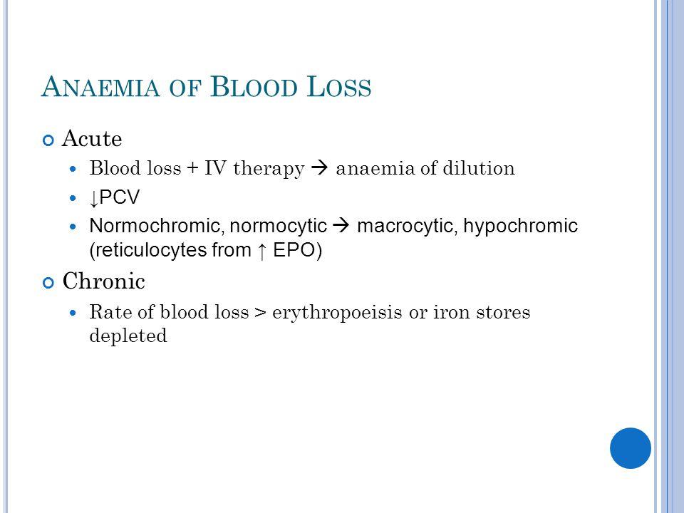 H AEMOLYTIC A NAEMIA Intravascular (vessels) vs.