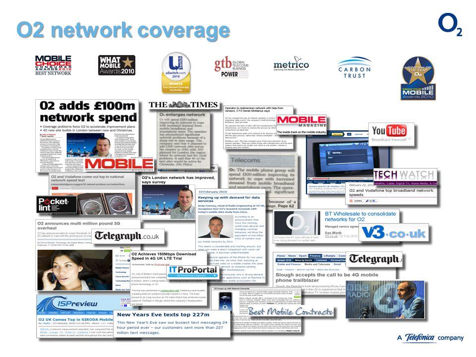 O2 network coverage