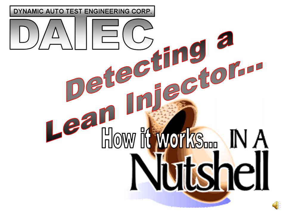 Since the computer compensated with a richer fuel mixture, a restricted injector may cause long term carbon damage to engine and delicate components.
