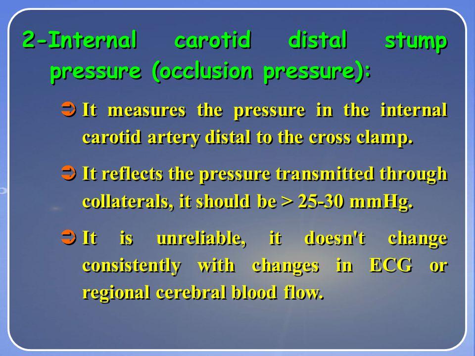 1- Jugular venous oxygen saturation: Sao2: Arterial O2 saturation CBF: Cerebral blood flow. Svo2: jugular venous O2 saturation If decrease in Svo2 ind