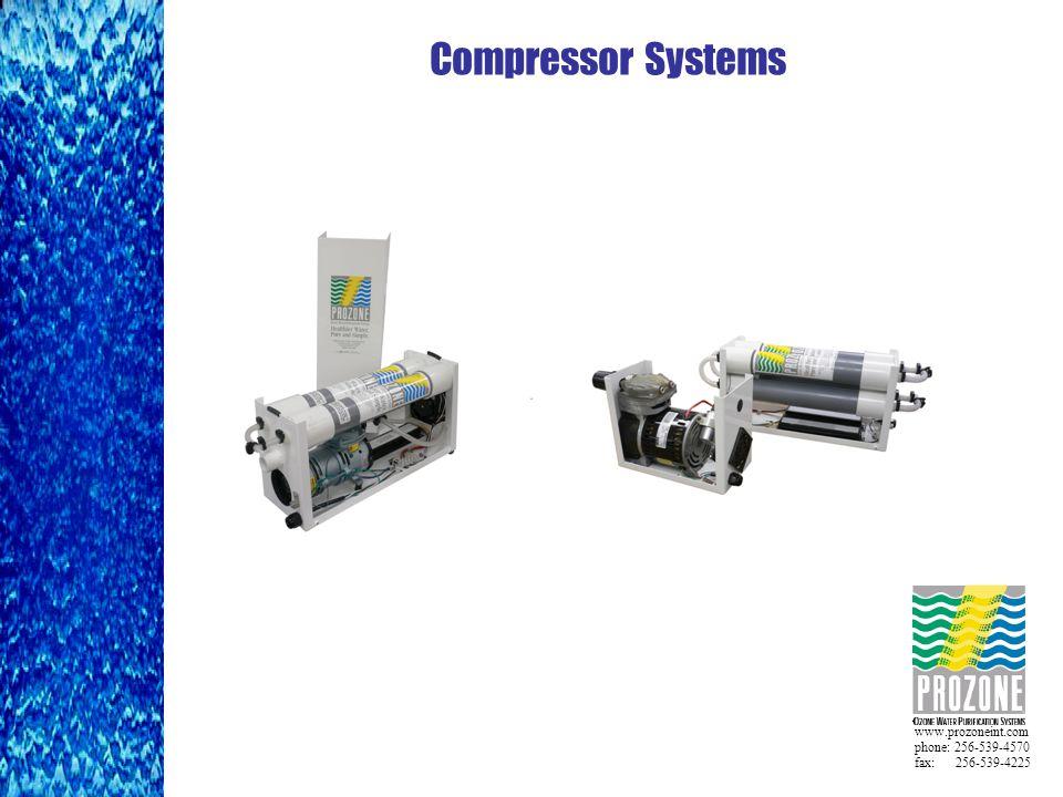 www.prozoneint.com phone: 256-539-4570 fax: 256-539-4225 Compressor Systems