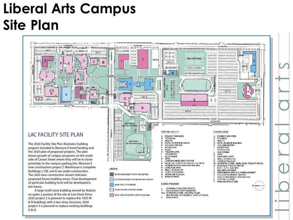 l i b e r a l a r t s Liberal Arts Campus Site Plan