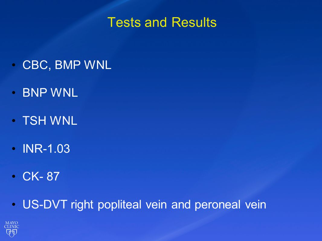 Final Working Diagnosis DVT right popliteal and peroneal vein