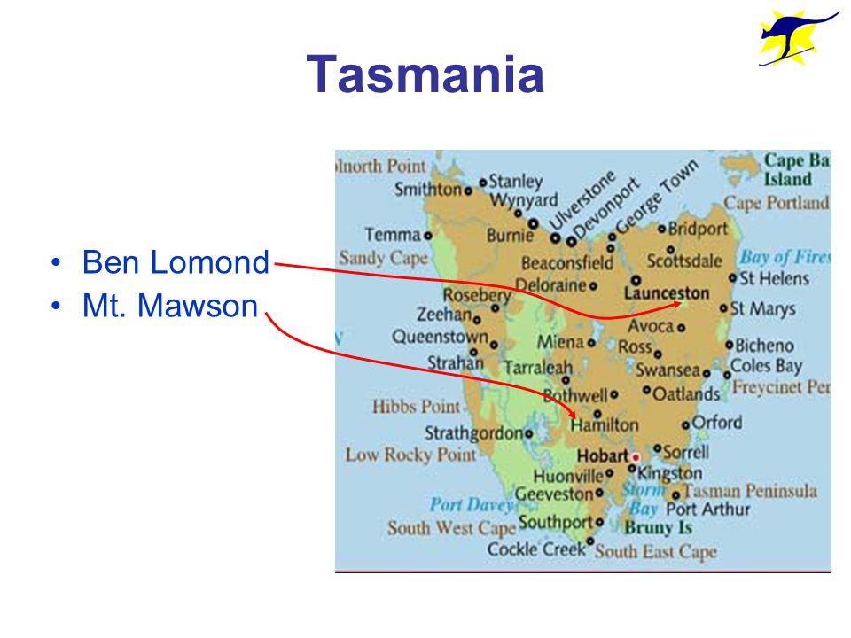 Tasmania Ben Lomond Mt. Mawson