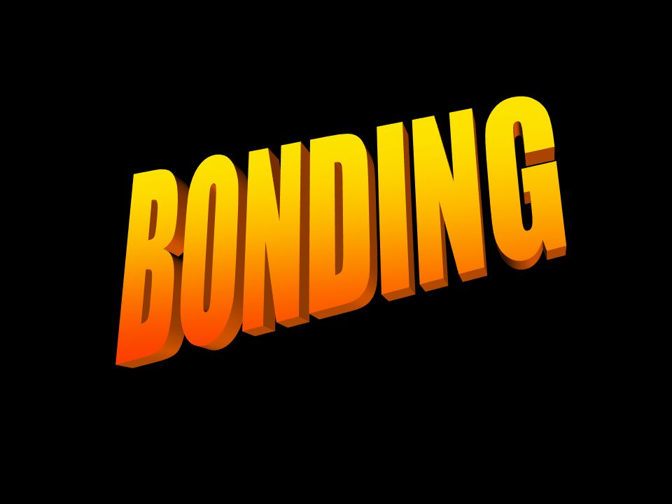 Covalent & Ionic Bonds
