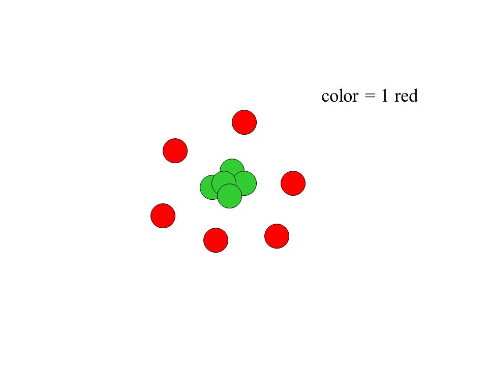 color = 2 green