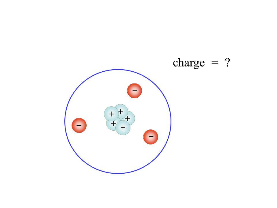 +++++ charge = 1- (one minus)