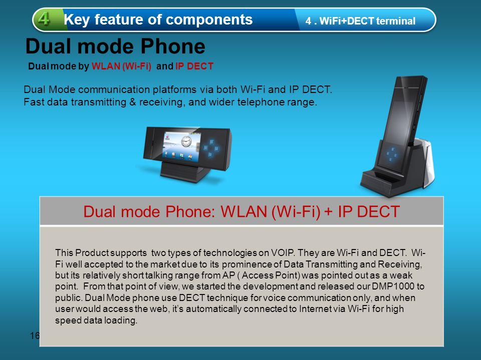 16 중제목을 입력하세요 1 Key feature of components 4.