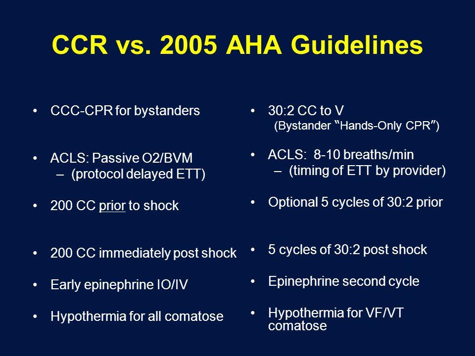 CCR vs.