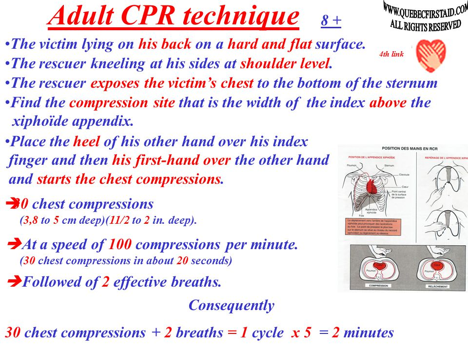 The CPR by coughing = nonsense… False - In no way condoned or recommended by medical authorities.