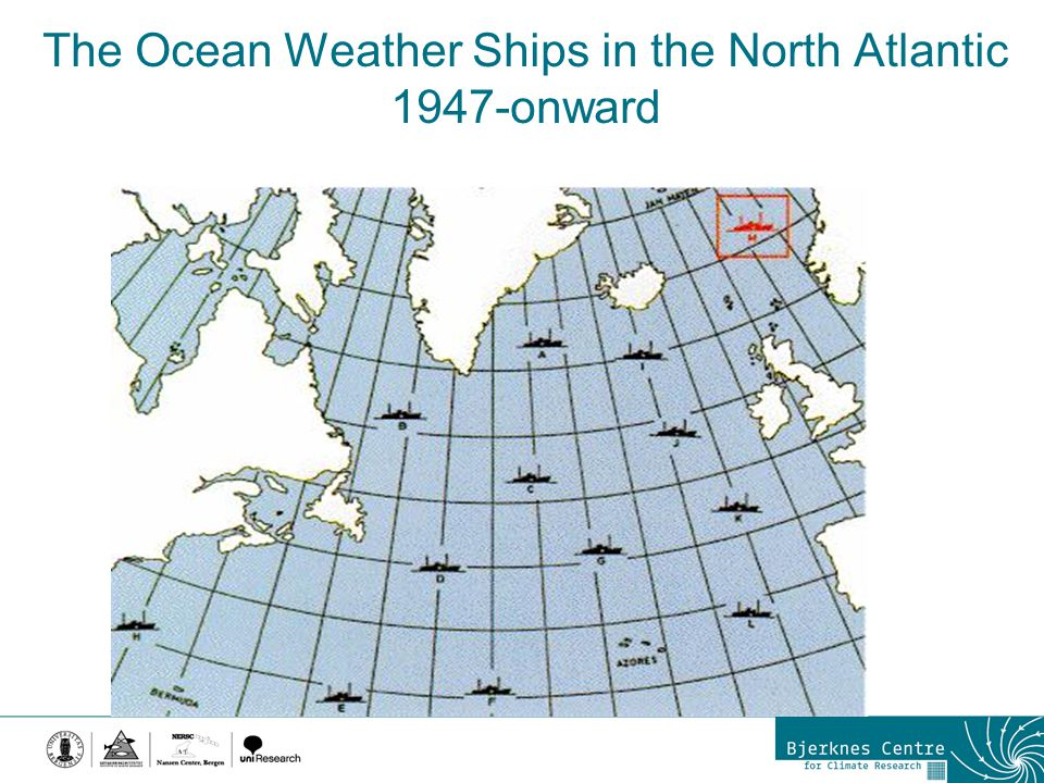 The Ocean Weather Ships in the North Atlantic 1947-onward