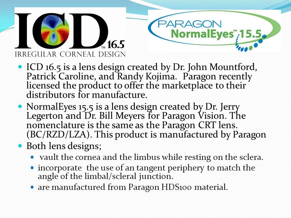 ICD 16.5 is a lens design created by Dr.John Mountford, Patrick Caroline, and Randy Kojima.
