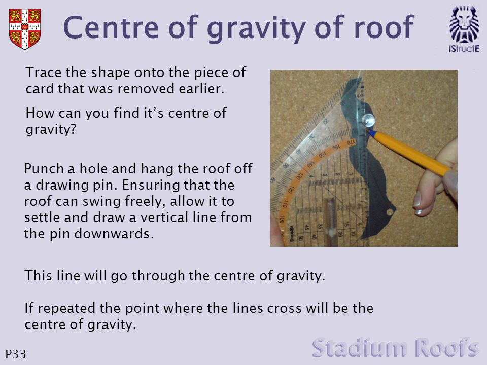 Calculate area of new roof b Again in order to balance the clockwise and anticlockwise moments about the mast must equal.