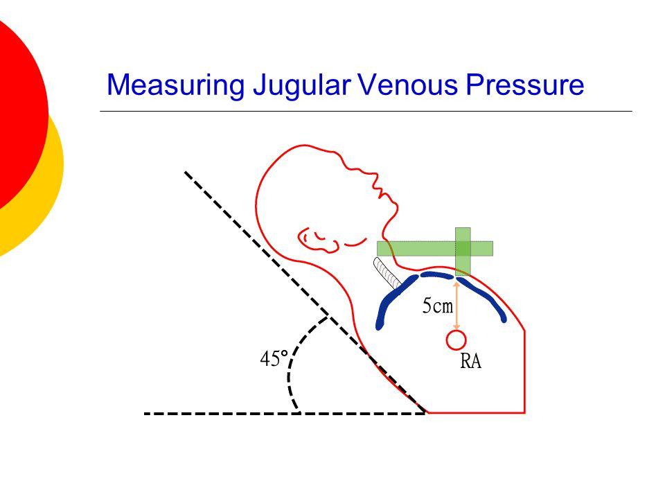 Measuring Jugular Venous Pressure
