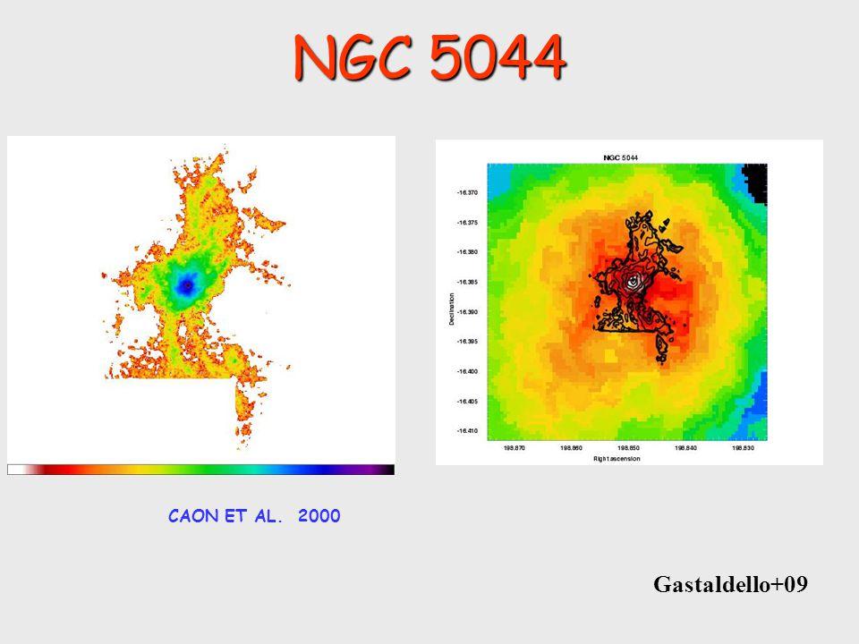 NGC 5044 CAON ET AL. 2000 Gastaldello+09
