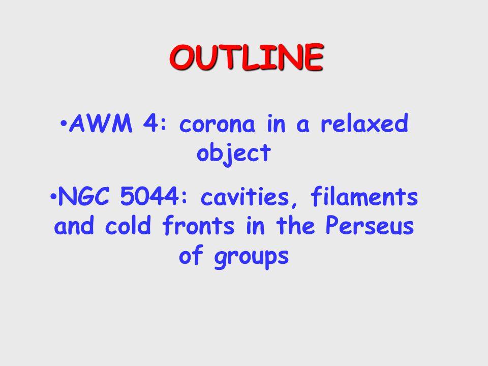 AWM4 AND AGN FEEDBACK Gastaldello+08, see also O'Sullivan+05, Giacintucci+08