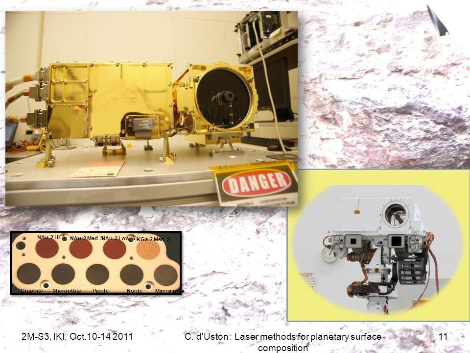 2M-S3, IKI, Oct.10-14 2011C.