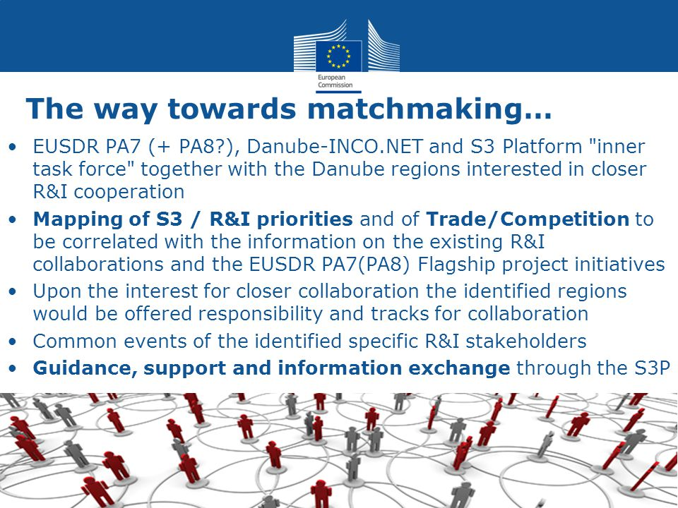 The way towards matchmaking… EUSDR PA7 (+ PA8?), Danube-INCO.NET and S3 Platform