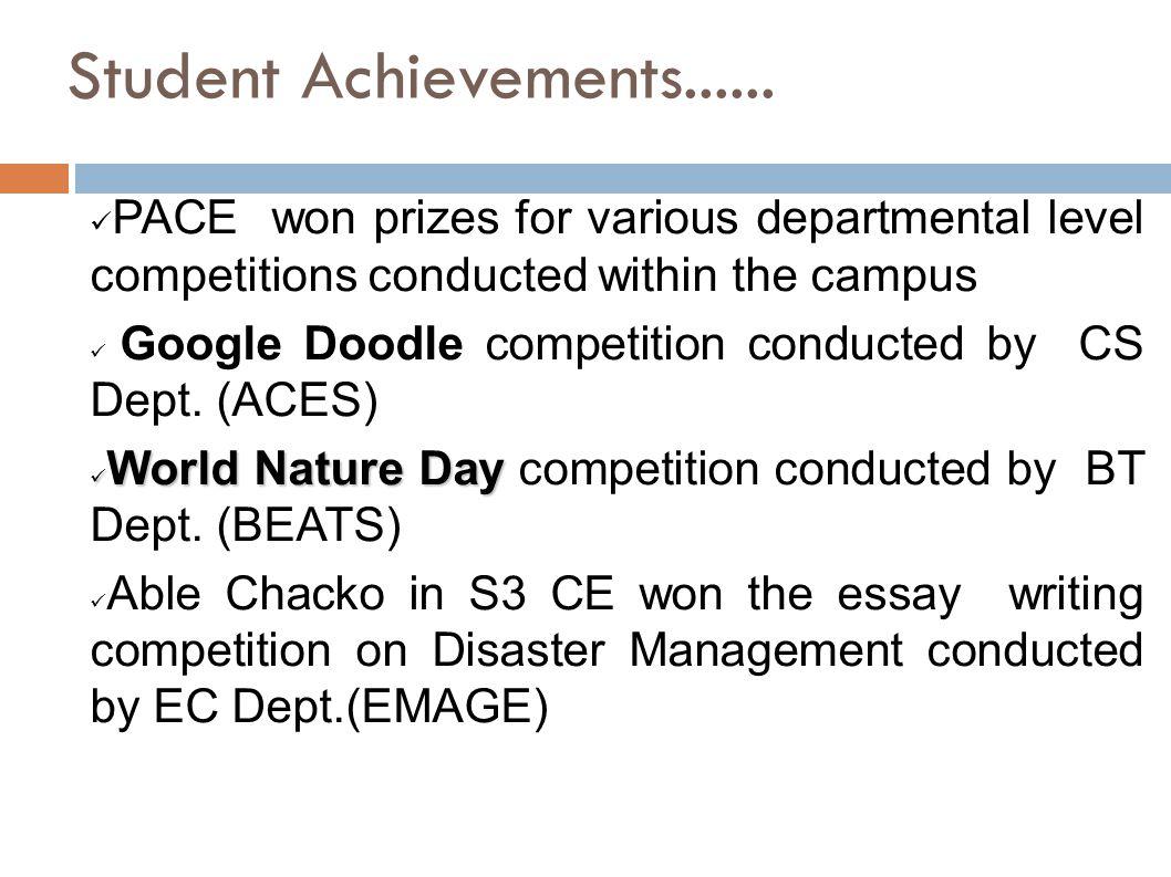 Student Achievements......