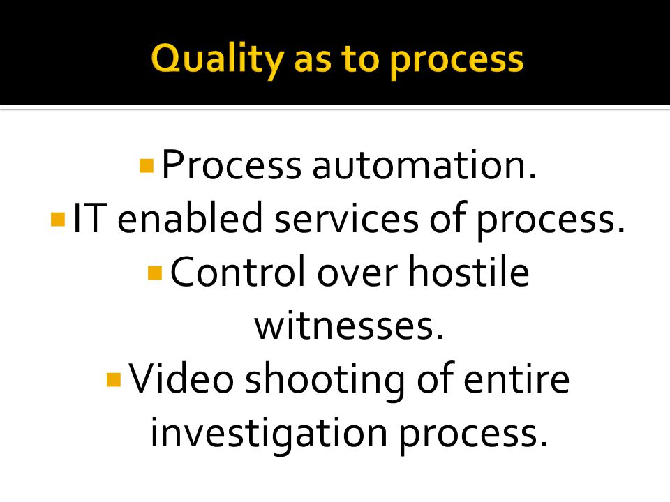  Process automation.  IT enabled services of process.