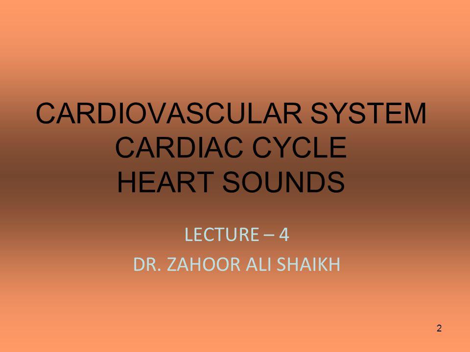 HEART SOUNDS 3