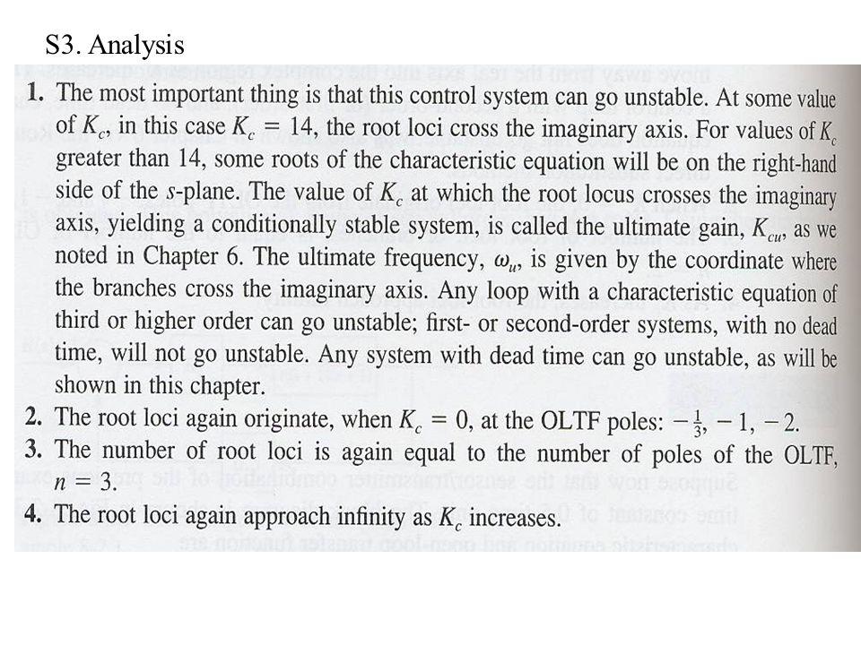 S3. Analysis