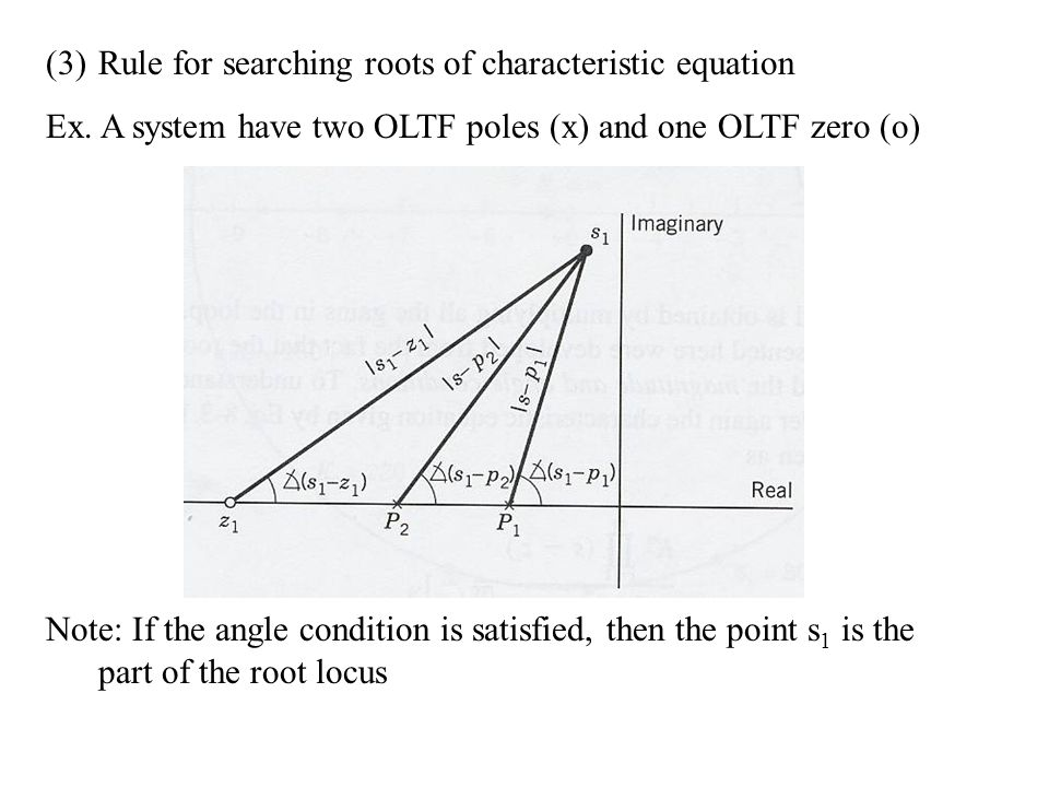 (3)Rule for searching roots of characteristic equation Ex.