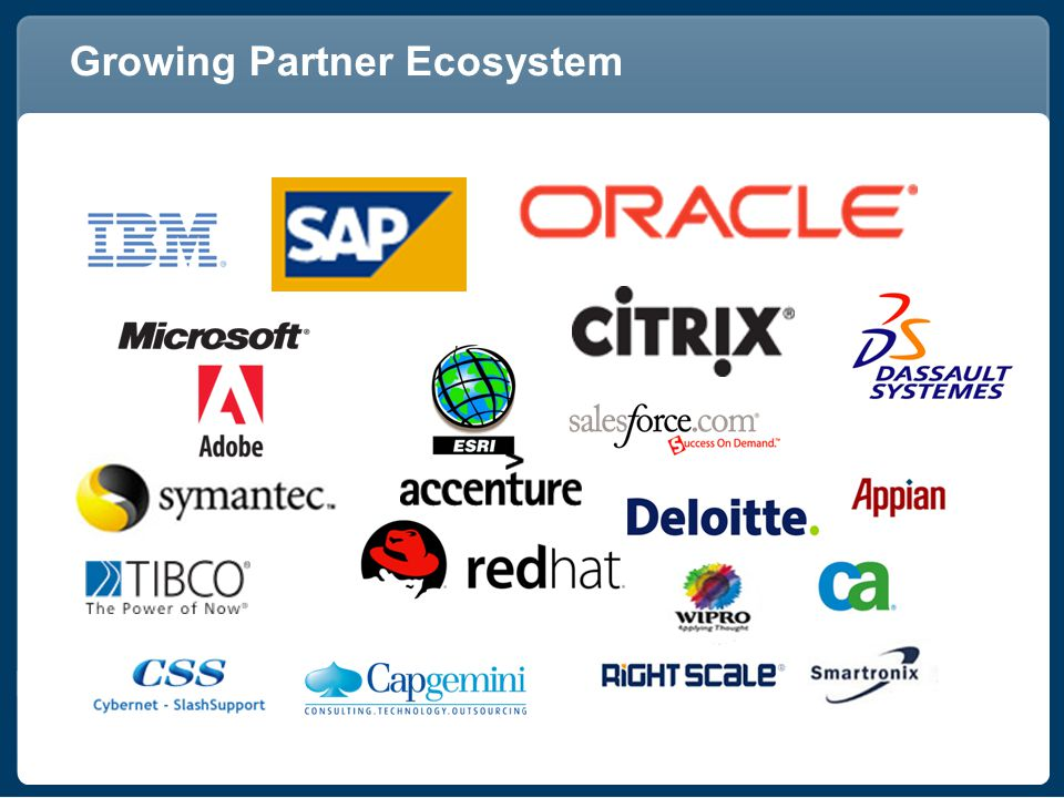 Growing Partner Ecosystem