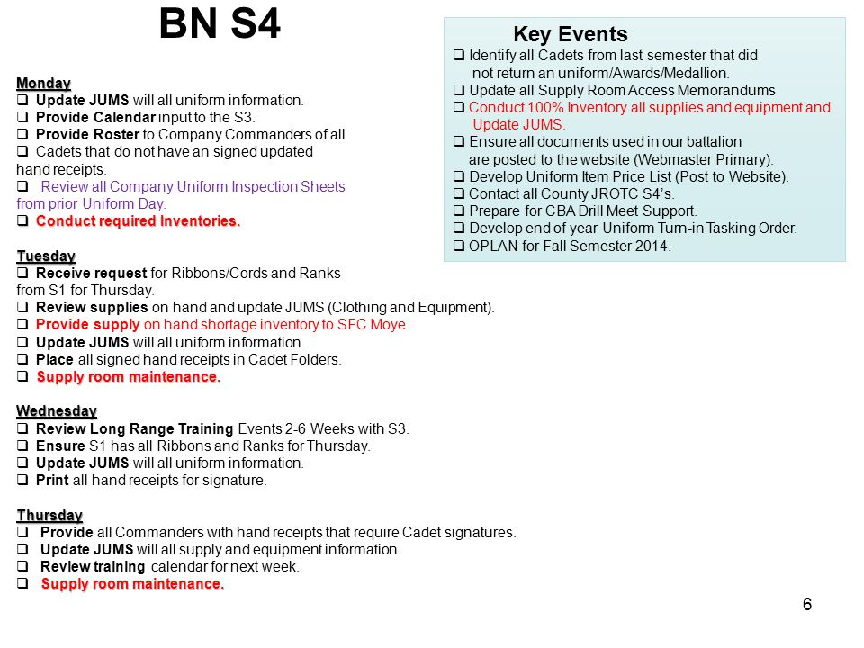 BN S5Monday  Work on Newsletter.