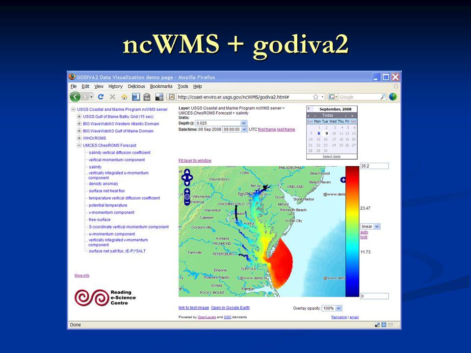 ncWMS + godiva2