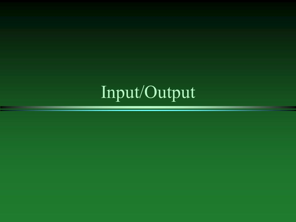l C++ uses streams for input and output l stream - is a sequence of data to be read (input stream) or a sequence of data generated by the program to be output (output stream) by default only standard streams are declared: cin (console input) cout (console output) l files are used to store information on permanent basis to do file input/output needs to be included as well as using std::ifstream; and using std::ofstream; l an input or output stream needs to be declared: ifstream fin; // input stream ofstream fout; // output stream l before C++ program can read from or write to a file stream, the stream needs to be connected to a file.