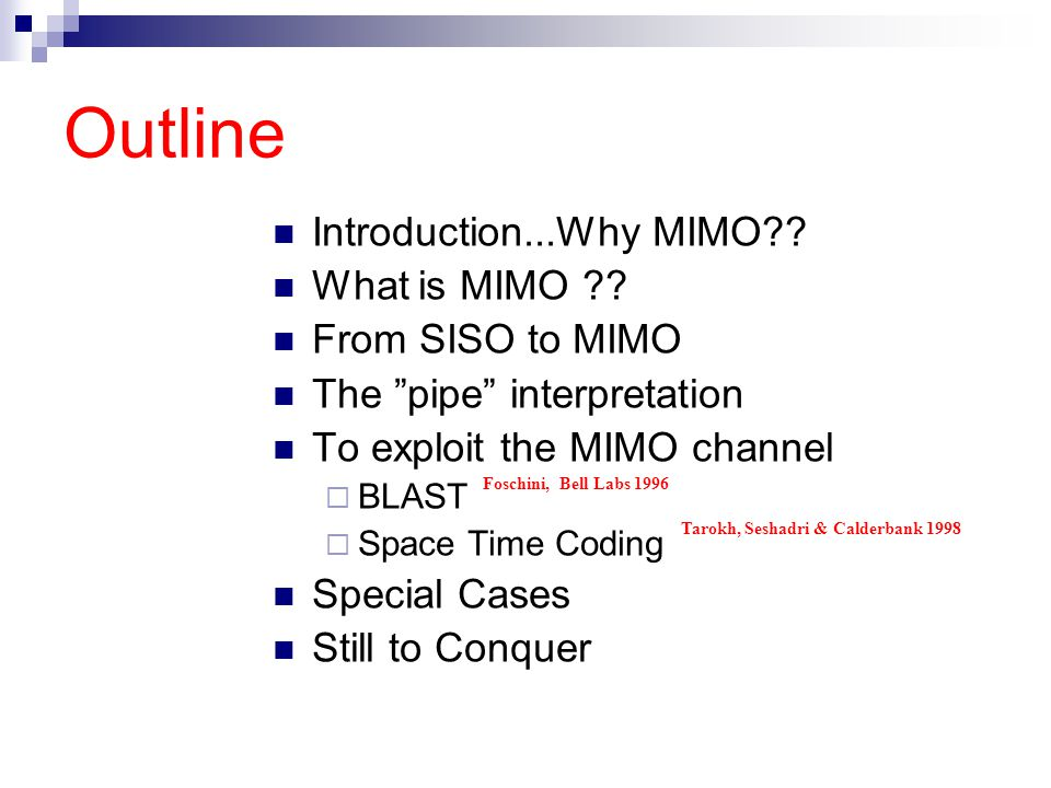 What is MIMO ??
