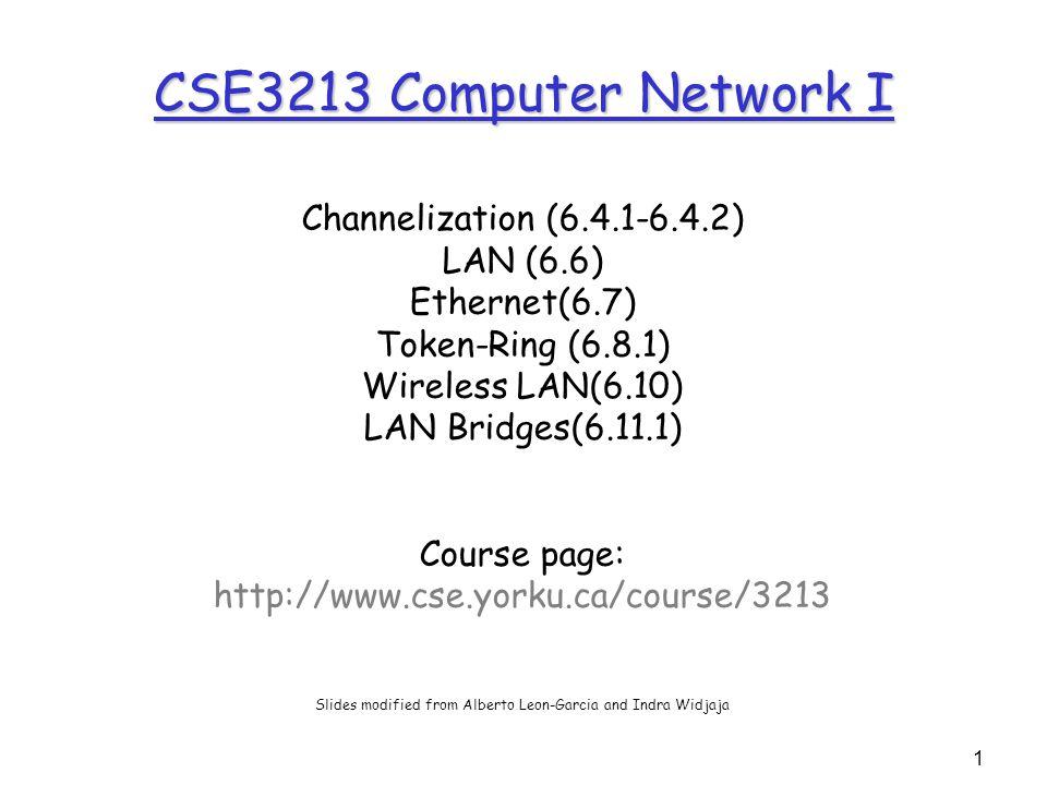 2 Channelization