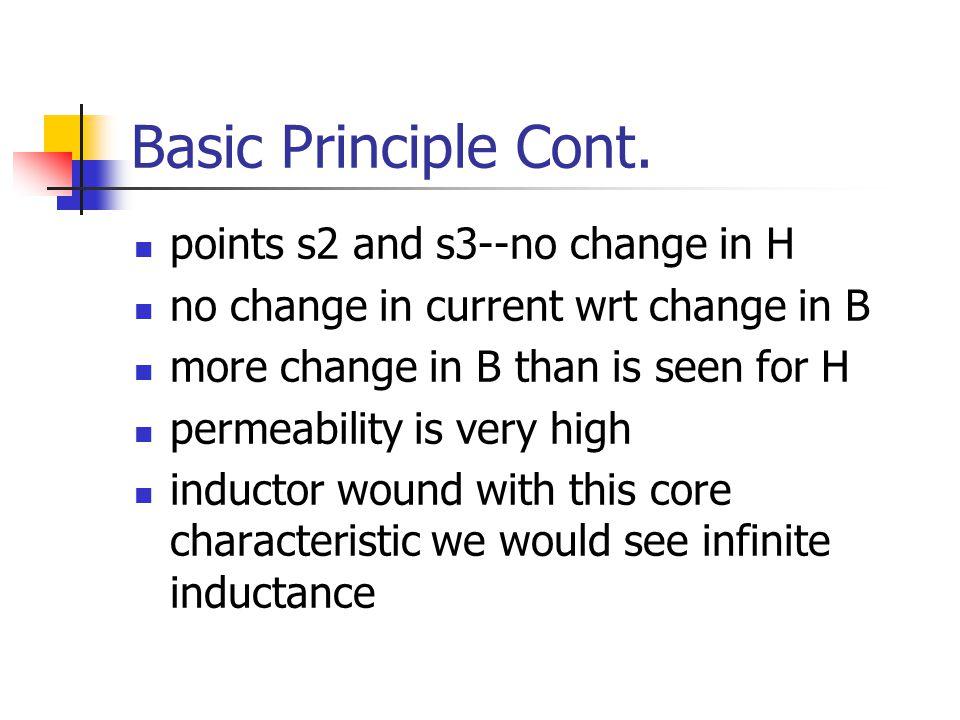 Basic Principle Cont.