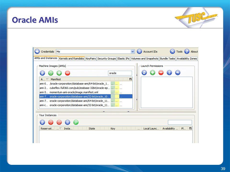 39 Oracle AMIs